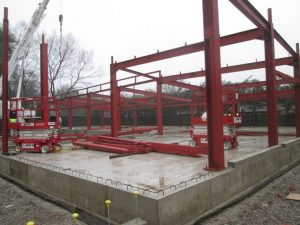 Steel Frame Under Construction